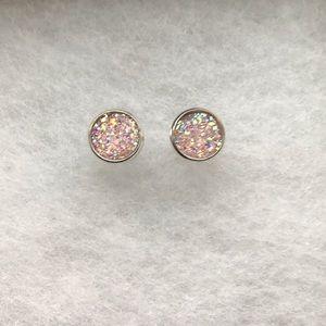Light Pink Earring Set